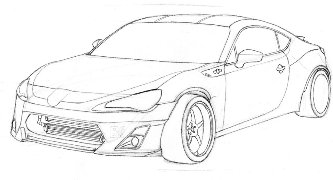 3d car coloring pages cgfrog most loved car blueprints for 3d modeling 3d car coloring pages