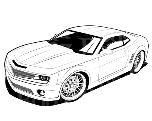 3d car coloring pages cgfrog most loved car blueprints for 3d modeling car 3d pages coloring