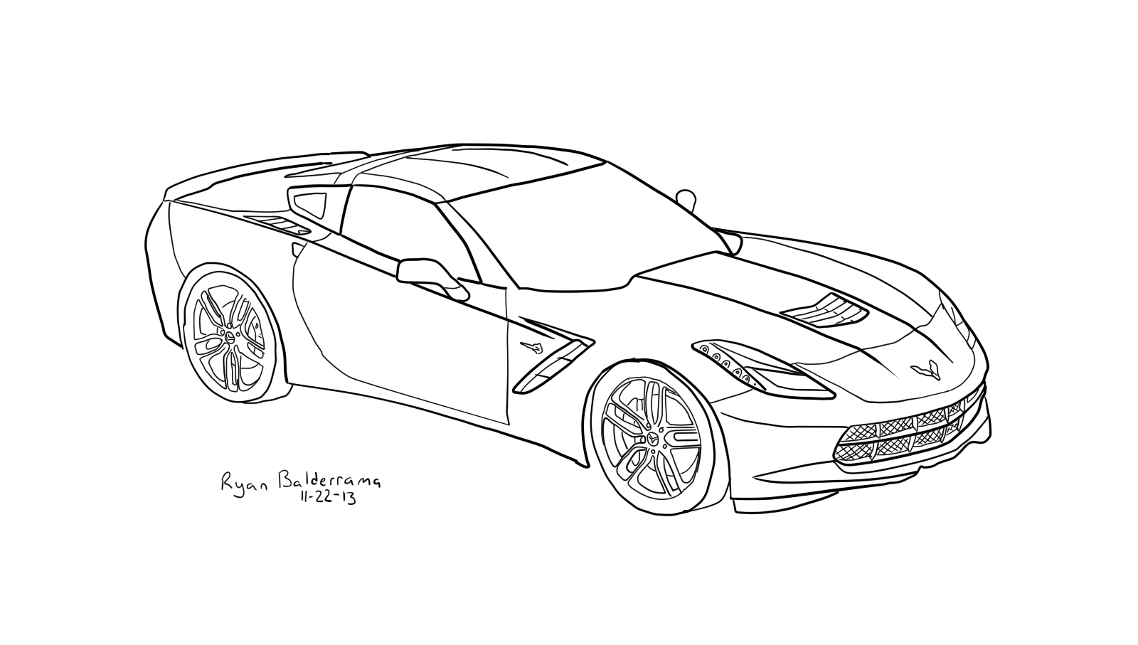 3d car coloring pages how to draw cars easy car drawings car drawing easy pages car 3d coloring