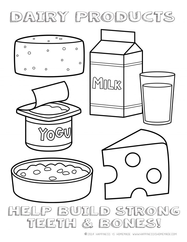 5 food groups coloring pages fruit group learning with kids balanced eating fun series 5 coloring food groups pages