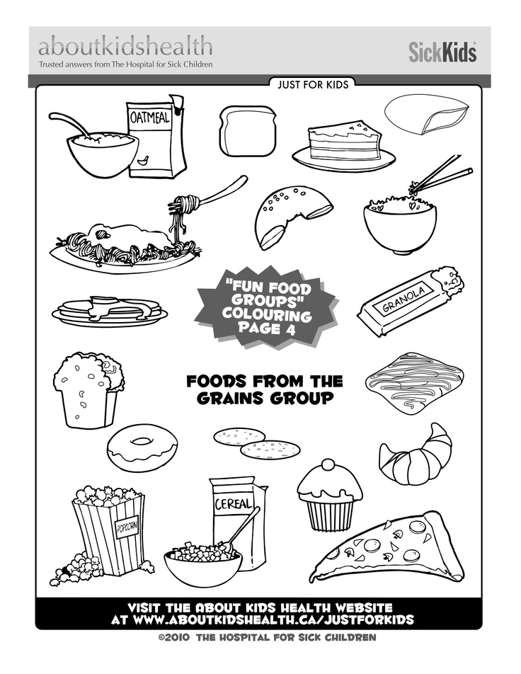5 food groups coloring pages give me five food groups worksheet by devyn davis tpt food groups 5 pages coloring