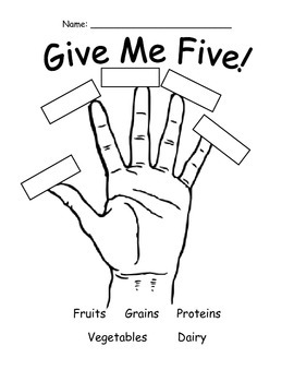 5 food groups coloring pages my plate food groups a printable book enchantedlearningcom pages coloring 5 groups food