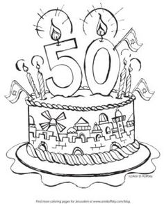 50th birthday coloring page happy 50th birthday quotes clip art library page birthday coloring 50th