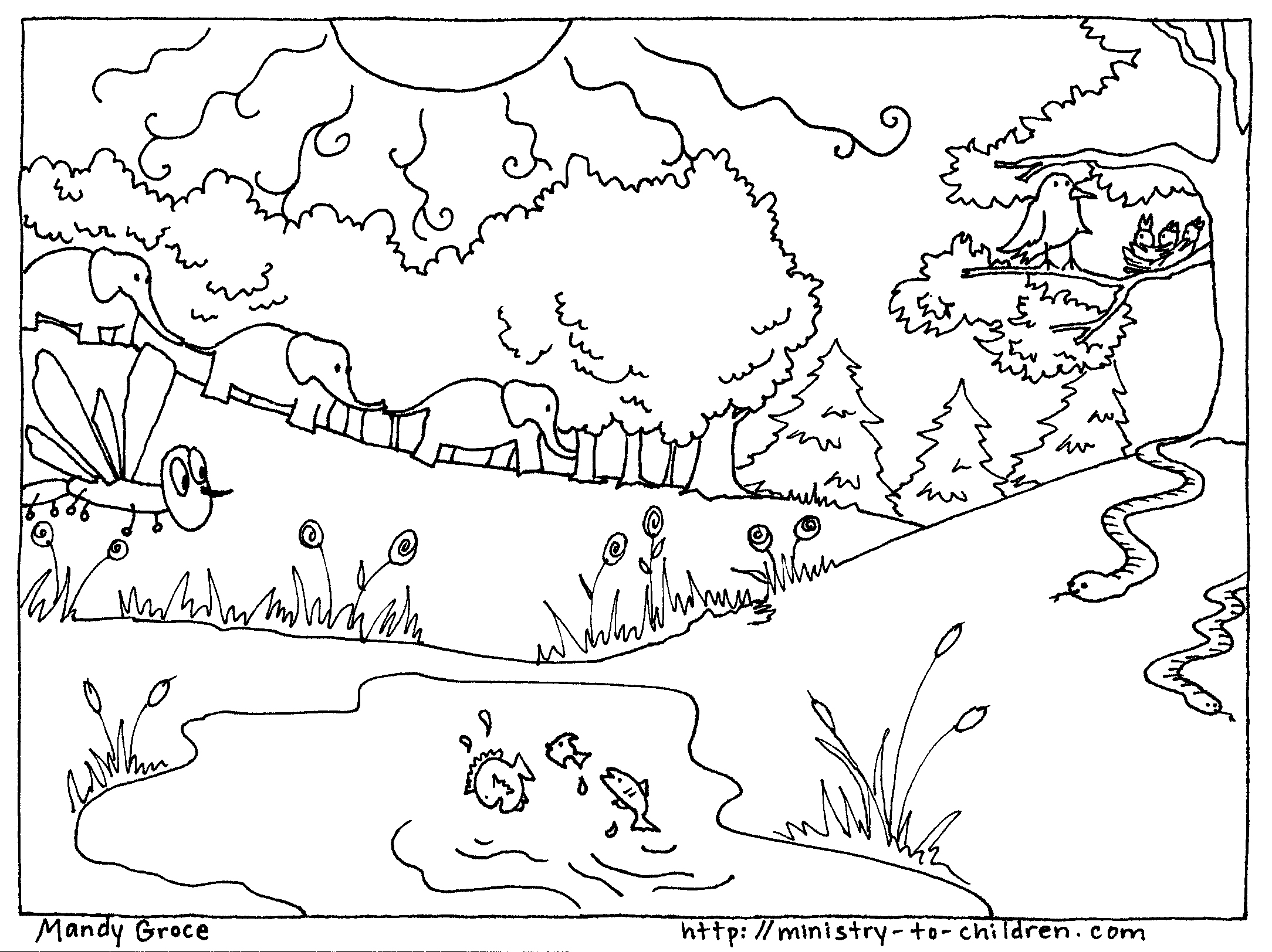 7 days of creation coloring pages free 7 days of creation coloring pages coloring home free 7 of creation pages days coloring