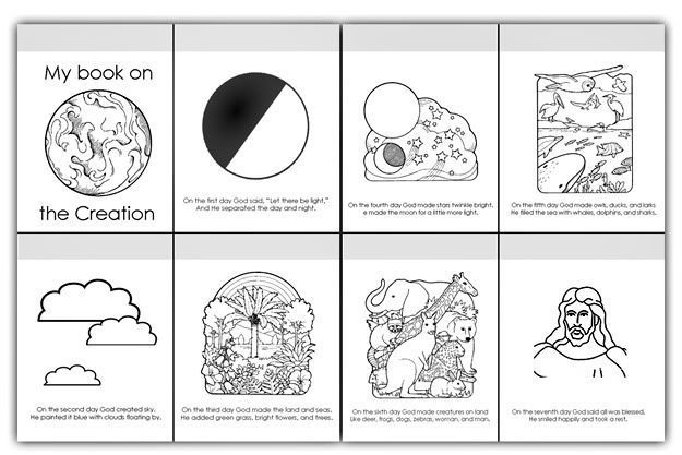 7 days of creation coloring pages free 7 days of creation coloring pages free of 7 creation free days coloring pages