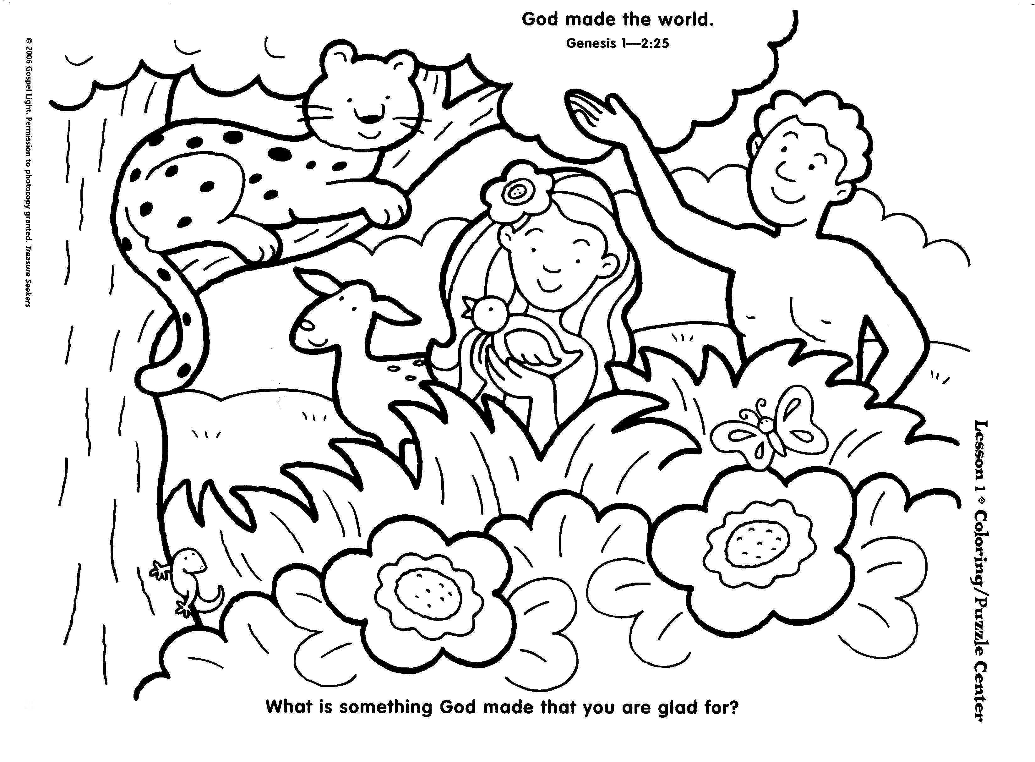 7 days of creation coloring pages free creation coloring pages kidsuki days pages creation free 7 coloring of