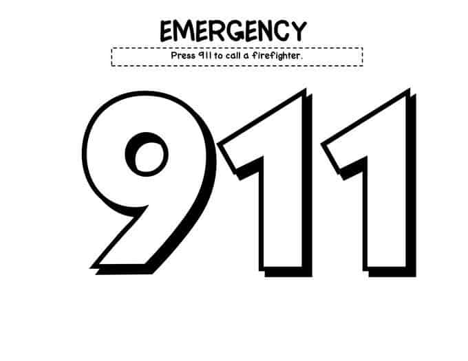 911 printable coloring pages 911 coloring pages kidsuki pages coloring printable 911