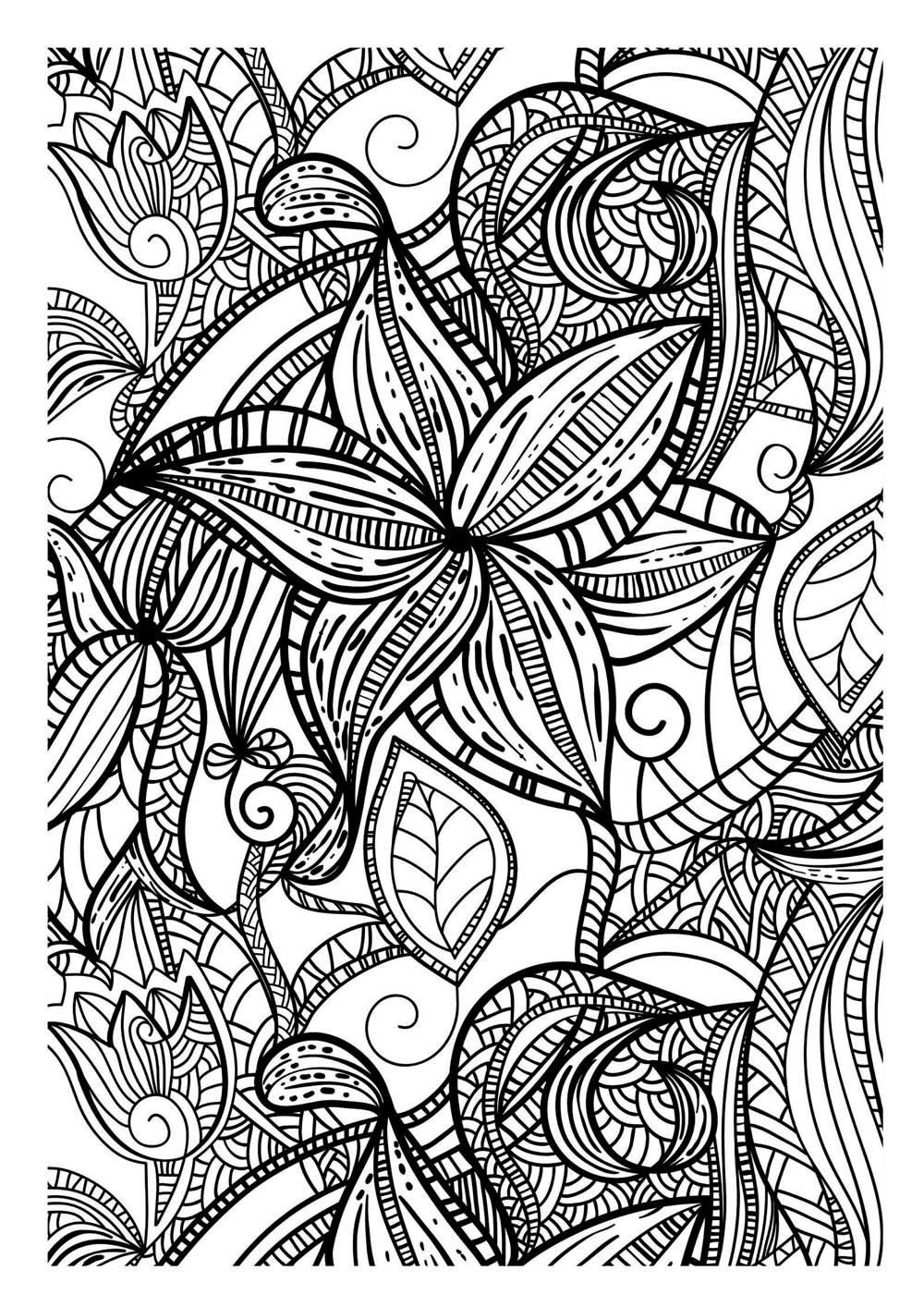 a coloring picture art therapy coloring pages to download and print for free a coloring picture
