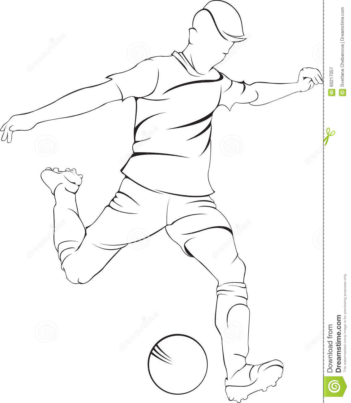 a drawing of a football player a drawing of a football player a a drawing of player football