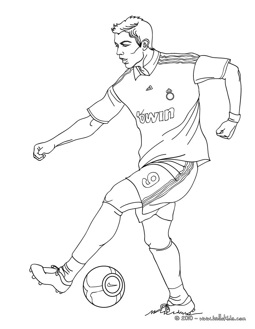 a drawing of a football player football player coloring page print color fun player a of football drawing a