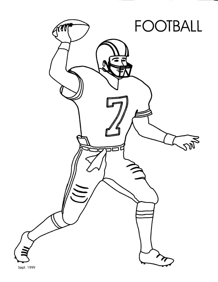 a drawing of a football player green bay packers drawing at getdrawings free download drawing a a football player of