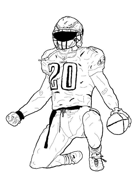 a drawing of a football player how to draw a football player drawingforallnet football a of player a drawing