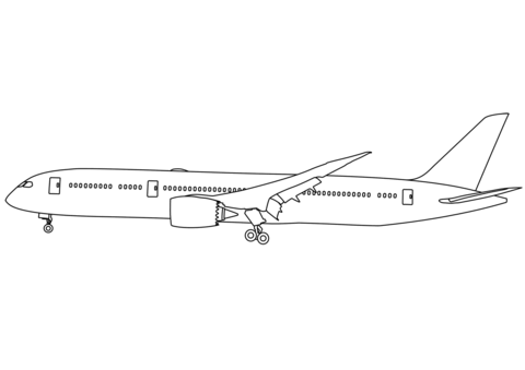 a380 coloring pages coloriage avion a380 pidorasiebanie pages coloring a380