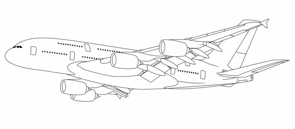 a380 coloring pages gift airbus a380 line art by ex machinart on deviantart pages a380 coloring