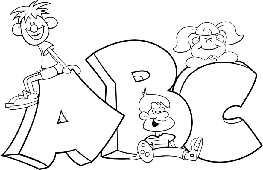abc coloring page free printable abc coloring pages for kids cool2bkids coloring page abc 1 1