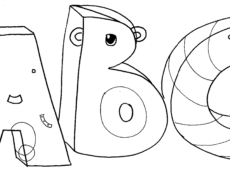 abc coloring page free printable alphabet coloring pages for kids best abc page coloring