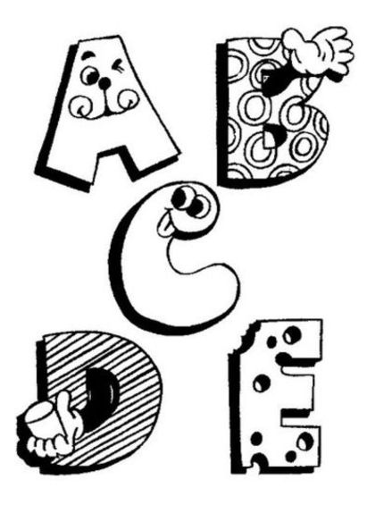 abc coloring page free printable alphabet coloring pages for kids best page coloring abc