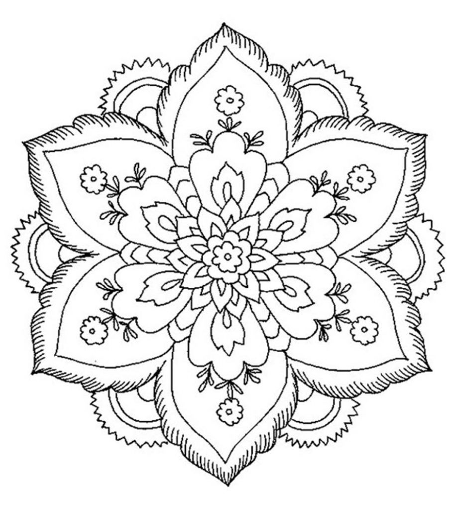 abstract flower coloring pages abstract flower coloring pages top coloring pages coloring abstract pages flower