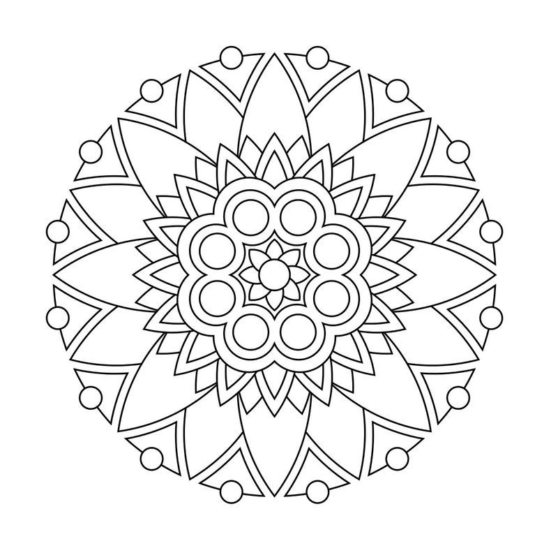 abstract flower coloring pages adults printable coloring pages in 2020 flower coloring pages coloring abstract flower