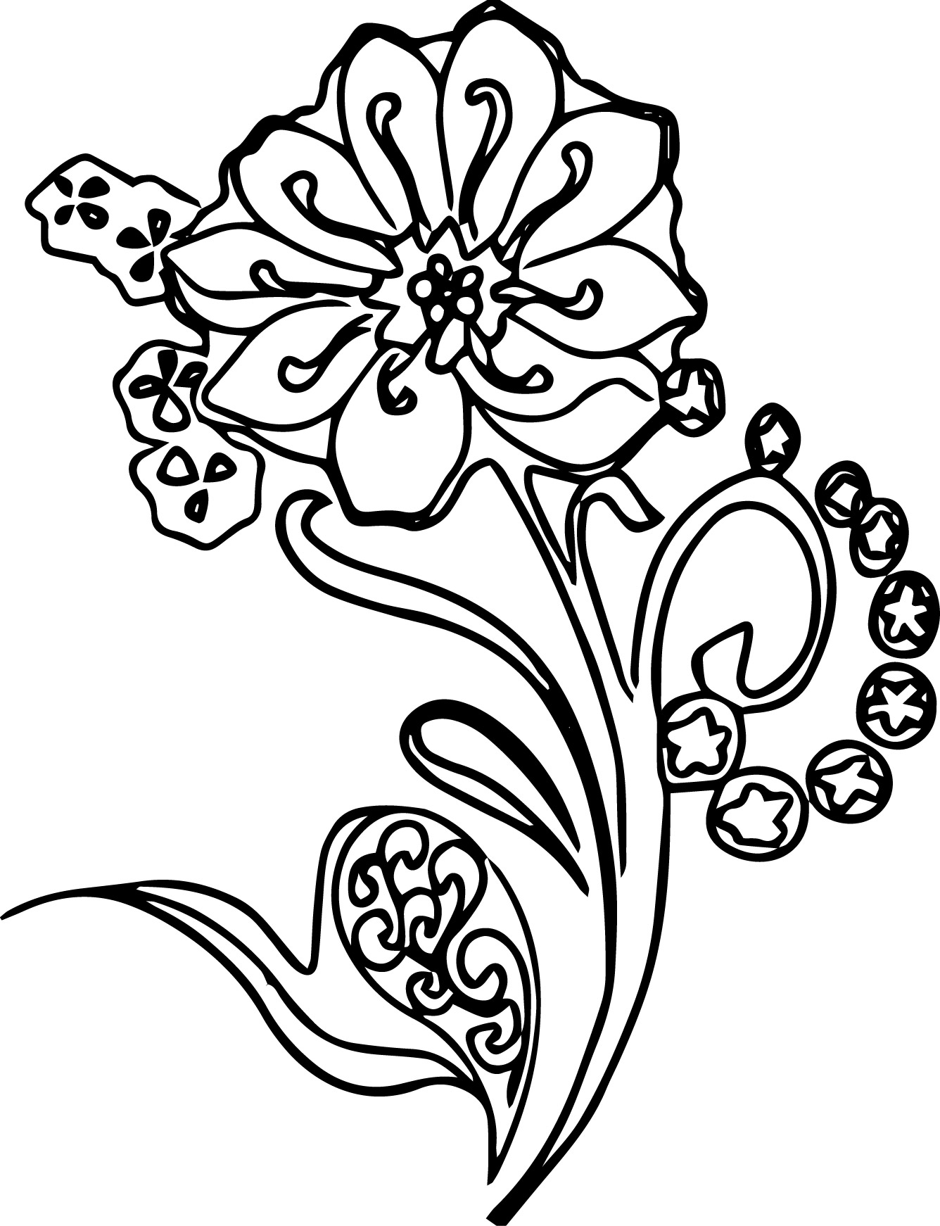 abstract flower coloring pages coloring pages coloring pages very difficult coloring coloring pages flower abstract