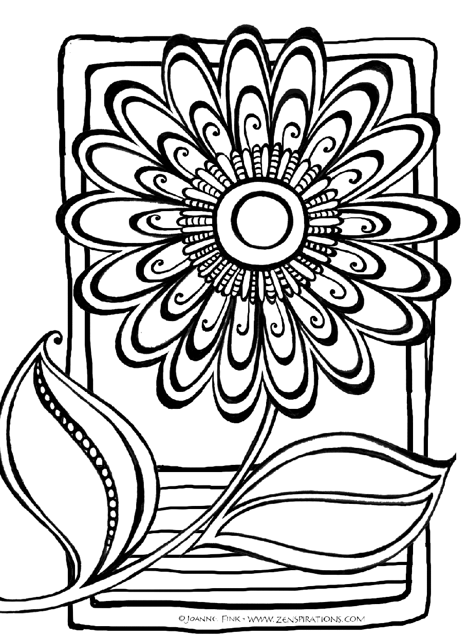 abstract flower coloring pages flower tattoo sketches abstract symbolical flower black abstract flower coloring pages