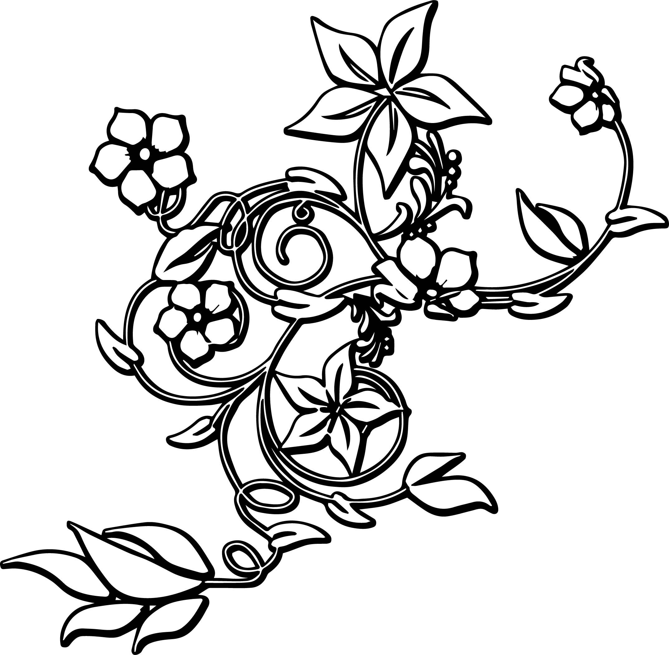abstract flower coloring pages free printable coloring pages flowers in 2020 flower abstract coloring pages flower