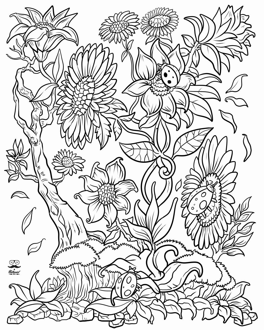 abstract flower coloring pages take time to color the flowers coloring book live your coloring abstract flower pages