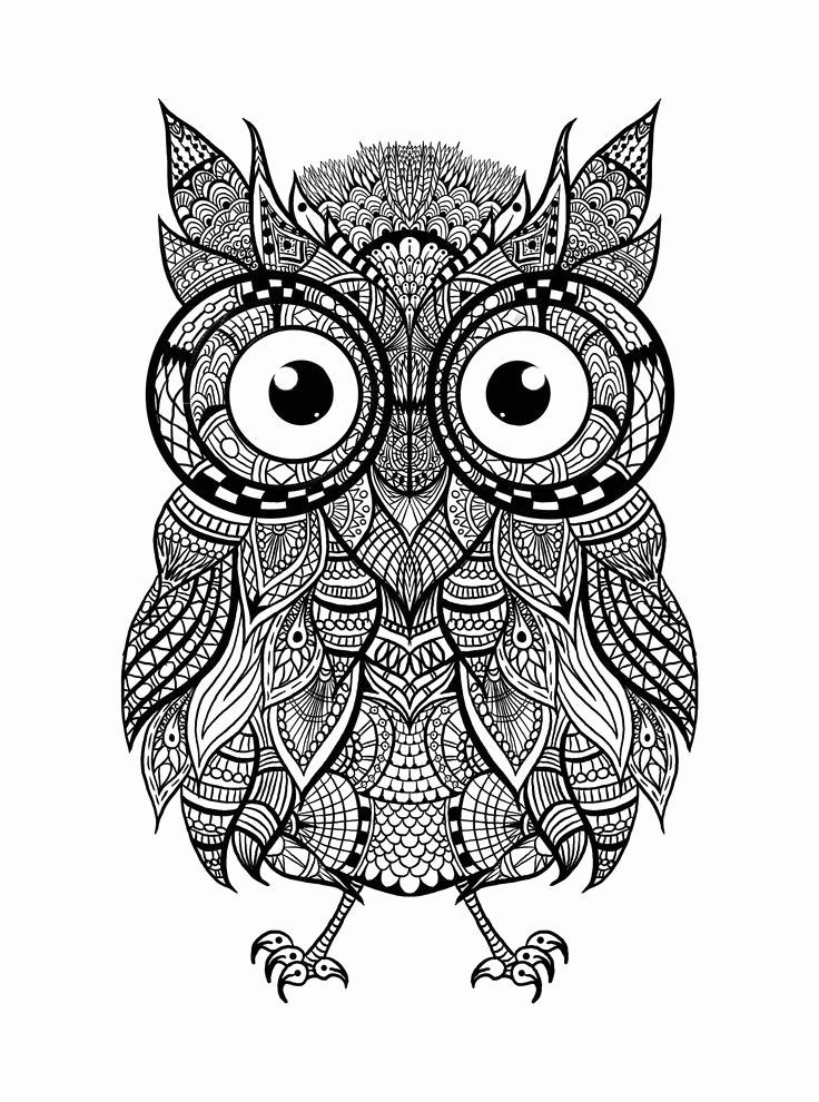 abstract owl coloring pages abstract owl coloring pages at getdrawings free download pages owl abstract coloring