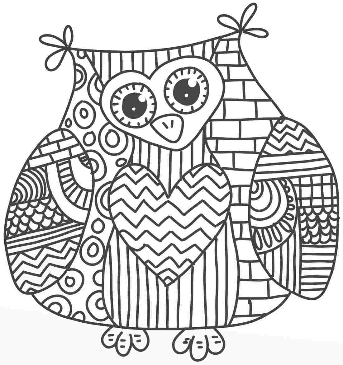 abstract owl coloring pages abstract owl coloring pages printable kids colouring abstract owl pages coloring