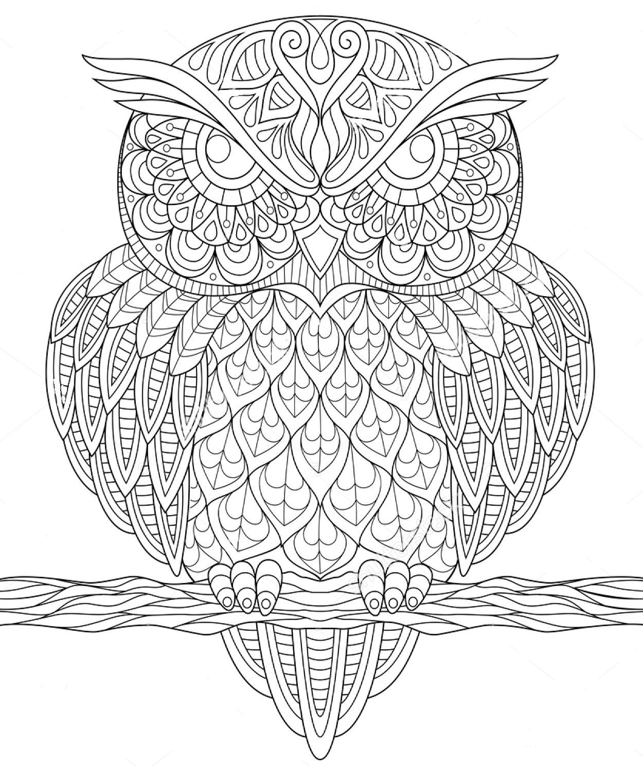 abstract owl coloring pages abstract owl free coloring page freecoloringpage coloring abstract pages owl