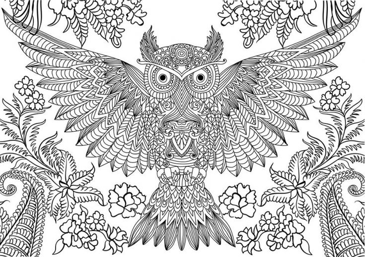 abstract owl coloring pages difficult owl coloring page printable for grown ups owl coloring owl abstract pages