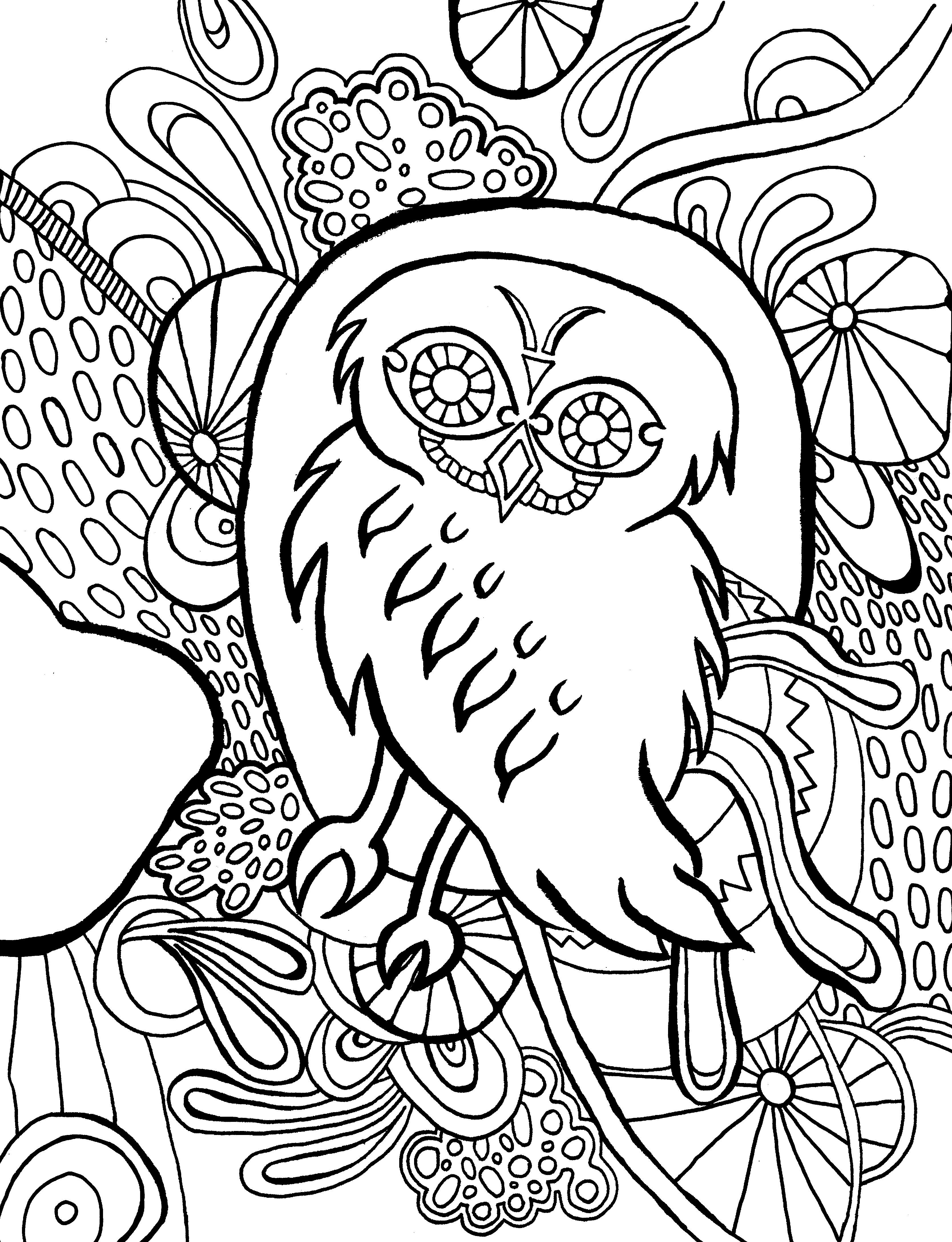 abstract owl coloring pages intricate animal coloring pages best of hey everyone check owl coloring abstract pages