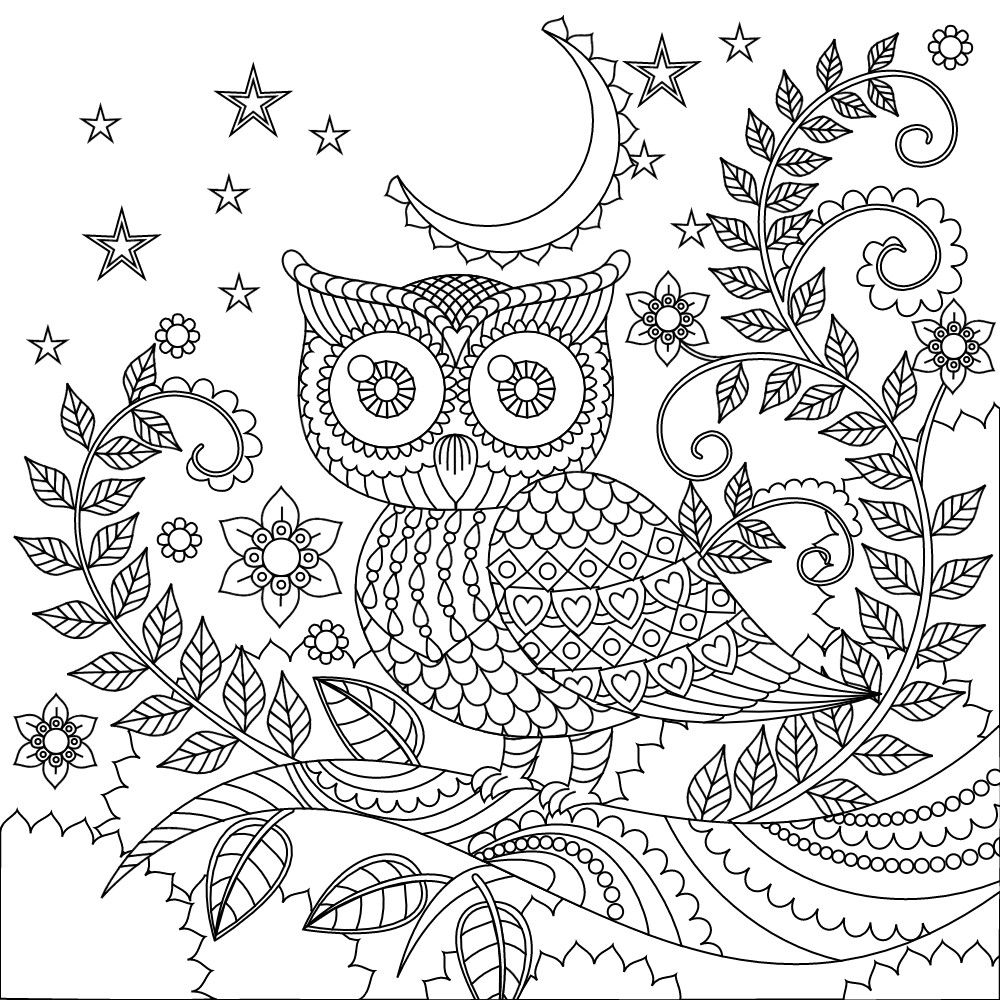 abstract owl coloring pages owl coloring page by ilovecoloring on etsy owl coloring owl abstract coloring pages