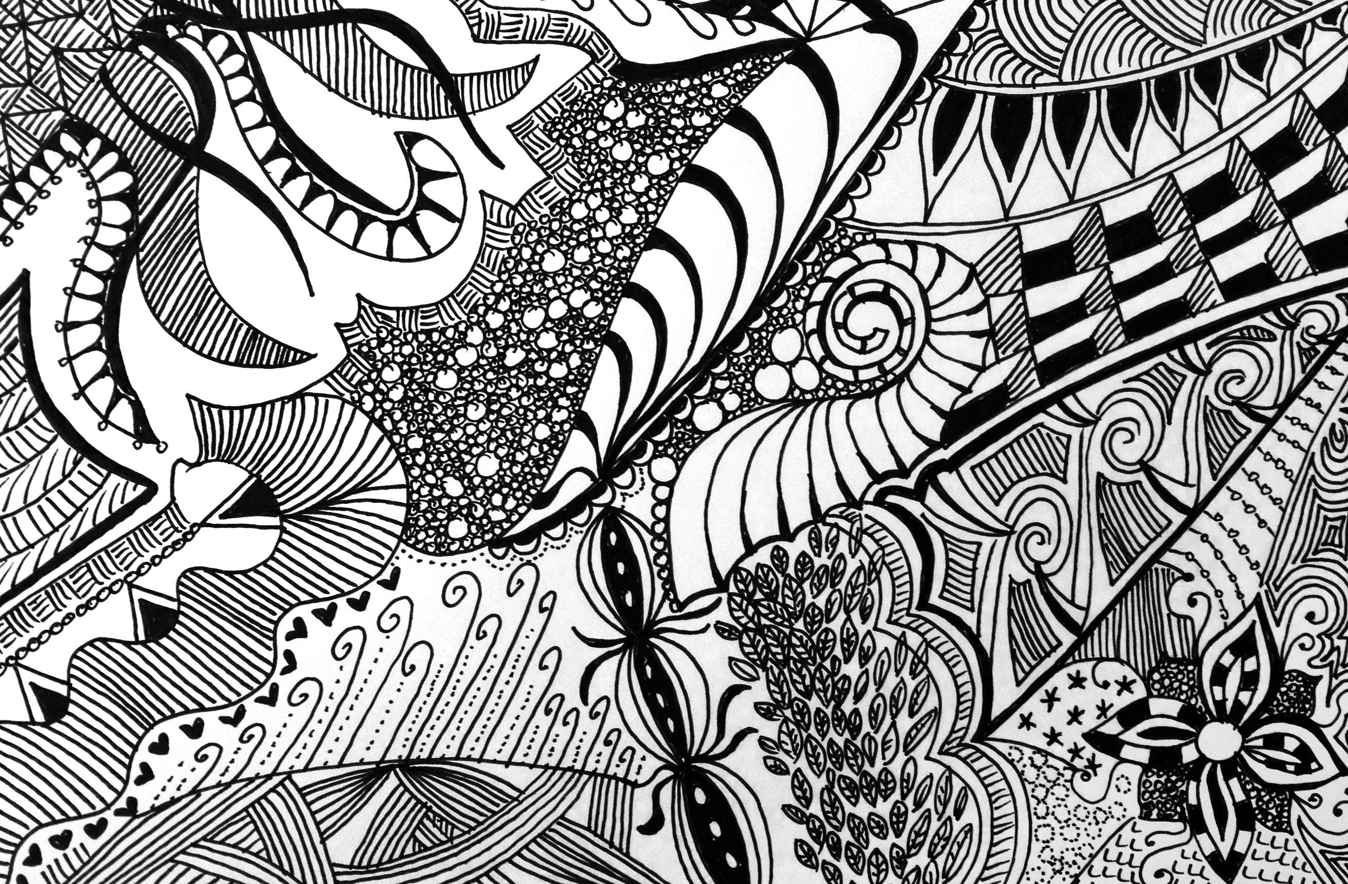 abstract zentangle drawing floral zentangle g6 art print abstract abstract zentangle