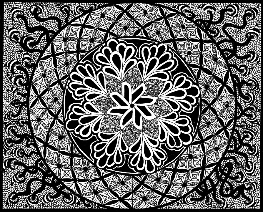 abstract zentangle free illustration zentangle pictures black and white abstract zentangle