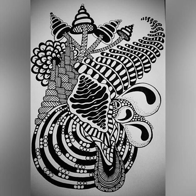 abstract zentangle spiral by francine derks zentangle designs zentangle abstract zentangle