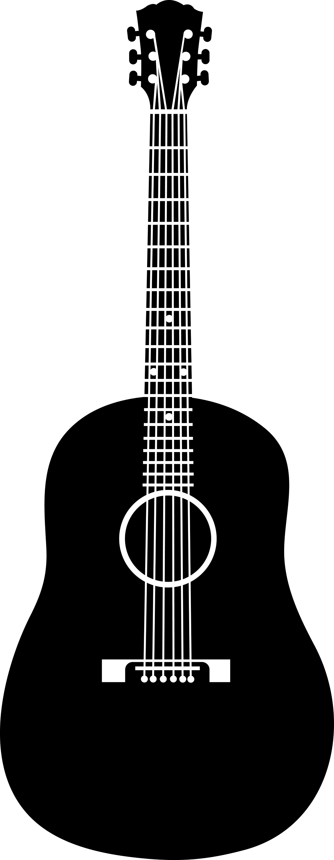 acoustic guitar silhouette guitar silhouette at getdrawings free download guitar acoustic silhouette