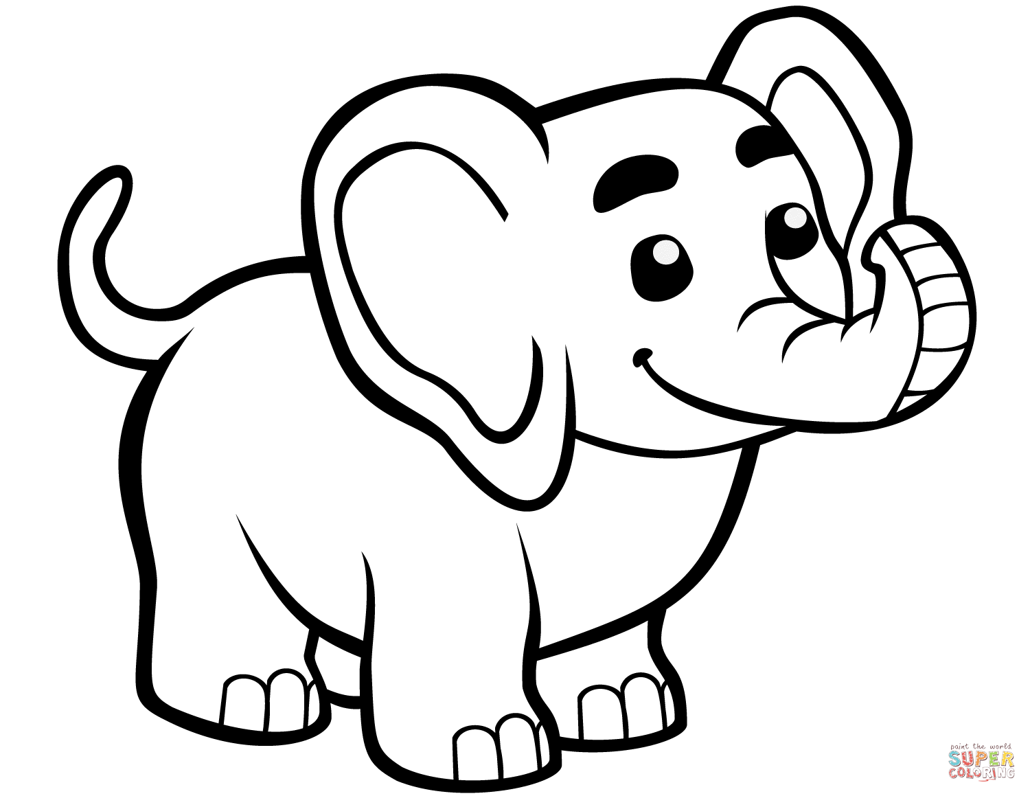 adorable baby elephant coloring pages cute baby elephant coloring page free printable coloring coloring baby pages elephant adorable