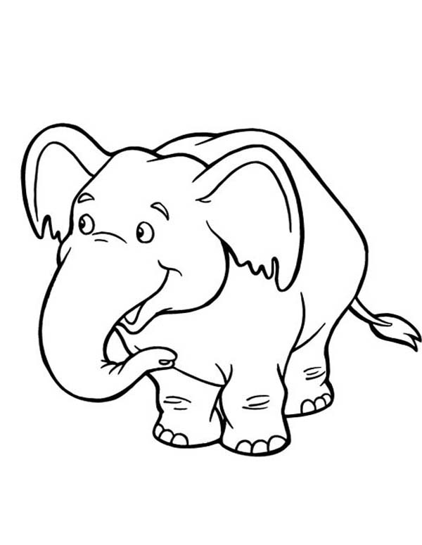 adorable baby elephant coloring pages cute baby elephant coloring pages at getdrawings free baby elephant coloring adorable pages