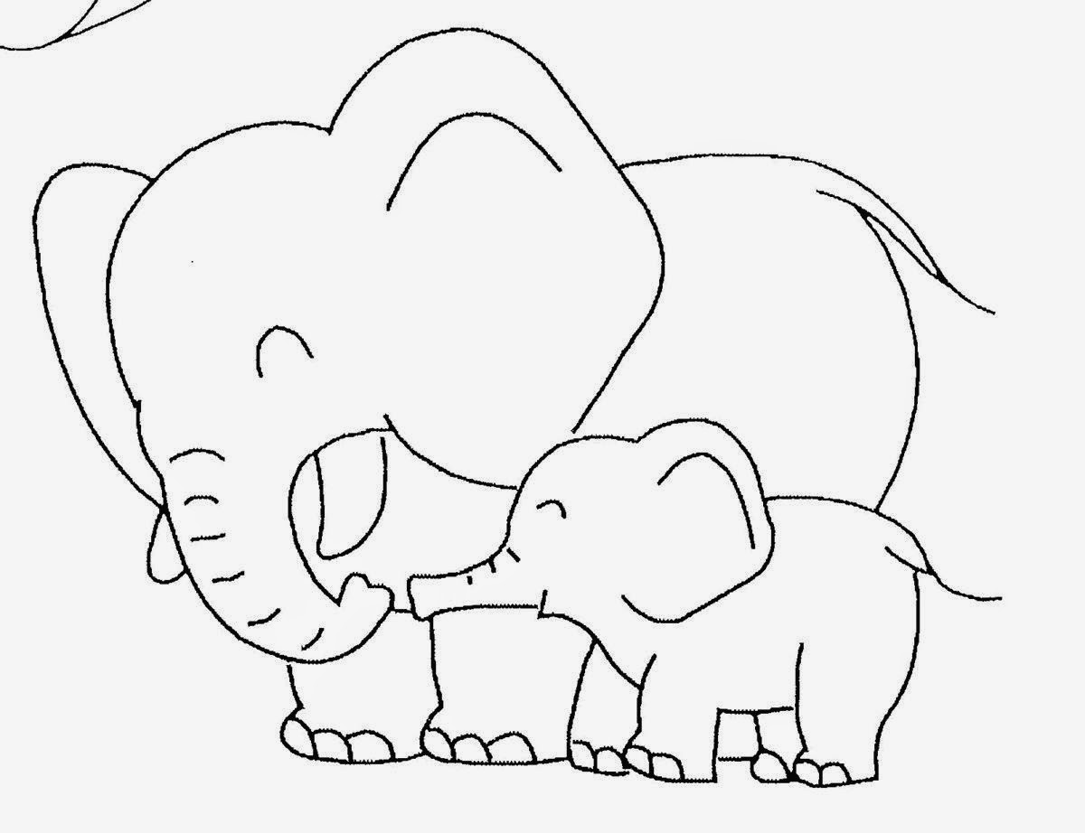 adorable baby elephant coloring pages cute baby elephant coloring pages get coloring pages elephant pages coloring adorable baby