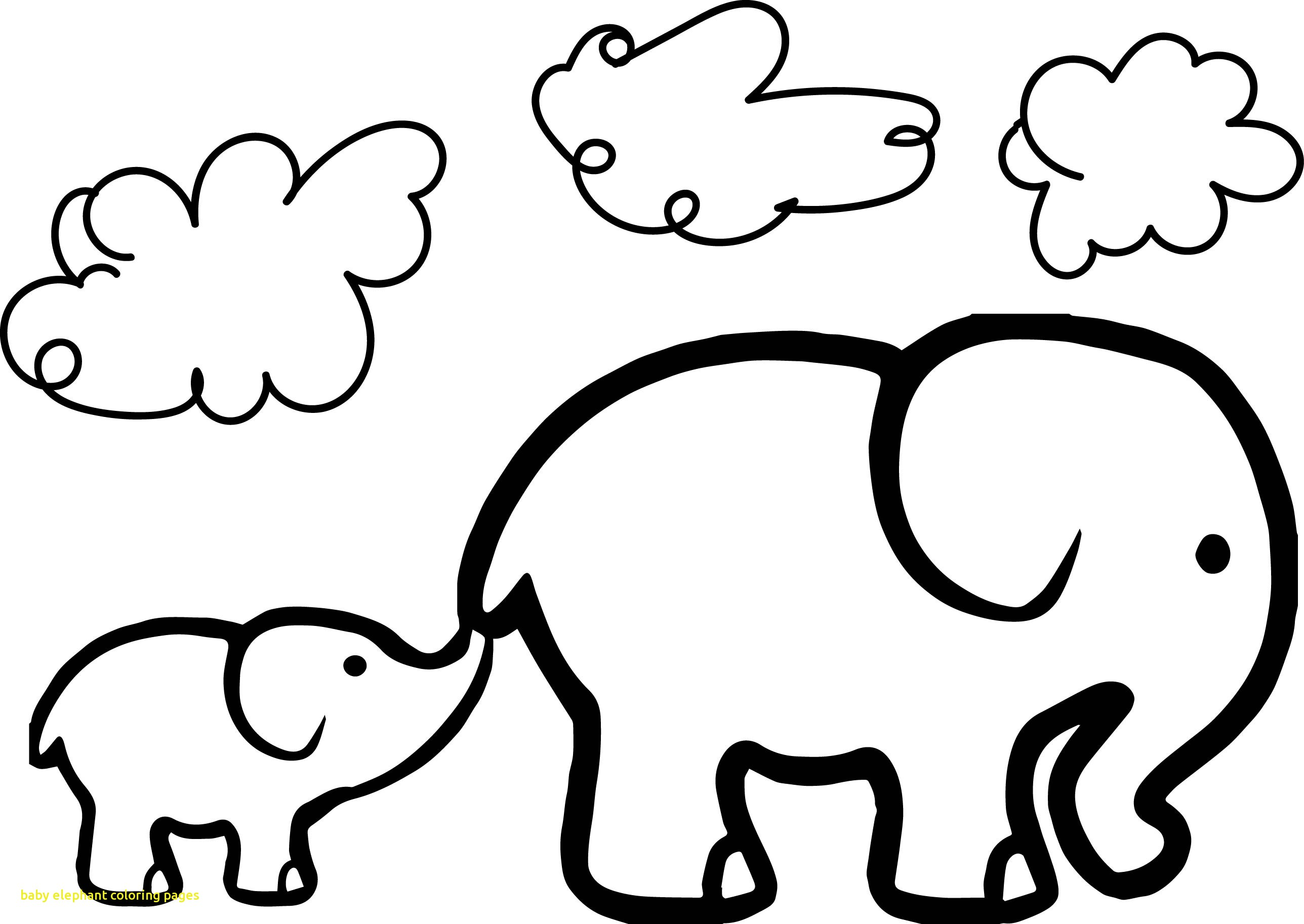adorable baby elephant coloring pages cute baby elephant drawing at getdrawings free download adorable pages elephant baby coloring