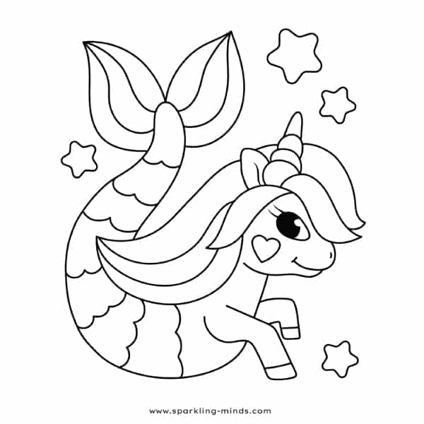 adorable unicorn mermaid coloring pages cute mermaid mermaid coloring pattern coloring pages unicorn adorable mermaid coloring pages