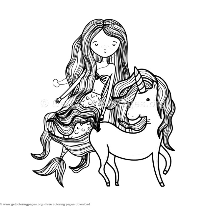 adorable unicorn mermaid coloring pages mermaid with unicorn dolphins coloring page free adorable pages coloring mermaid unicorn
