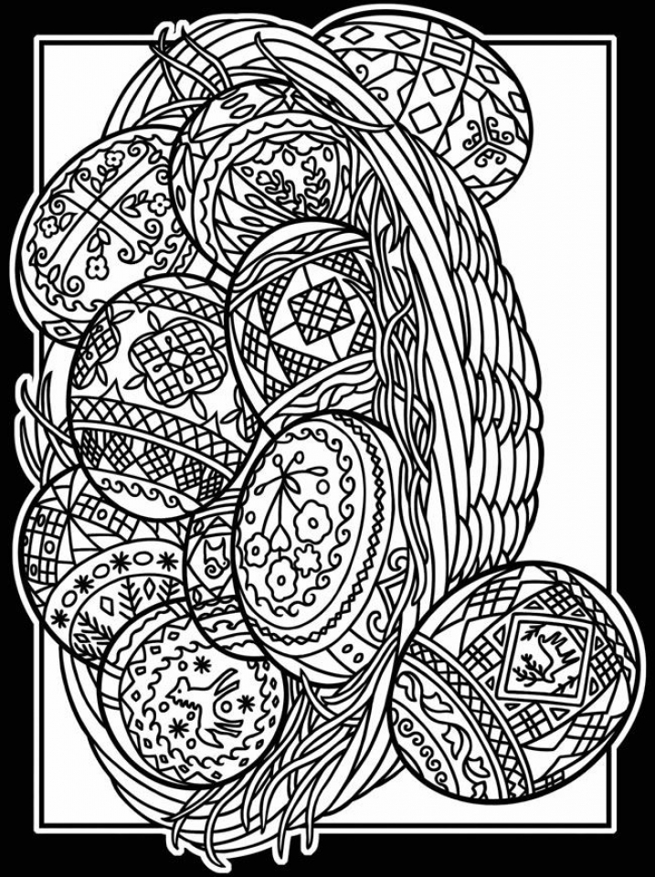 adult easter coloring pages easter egg with flowers for adult coloring pages printable easter pages adult coloring