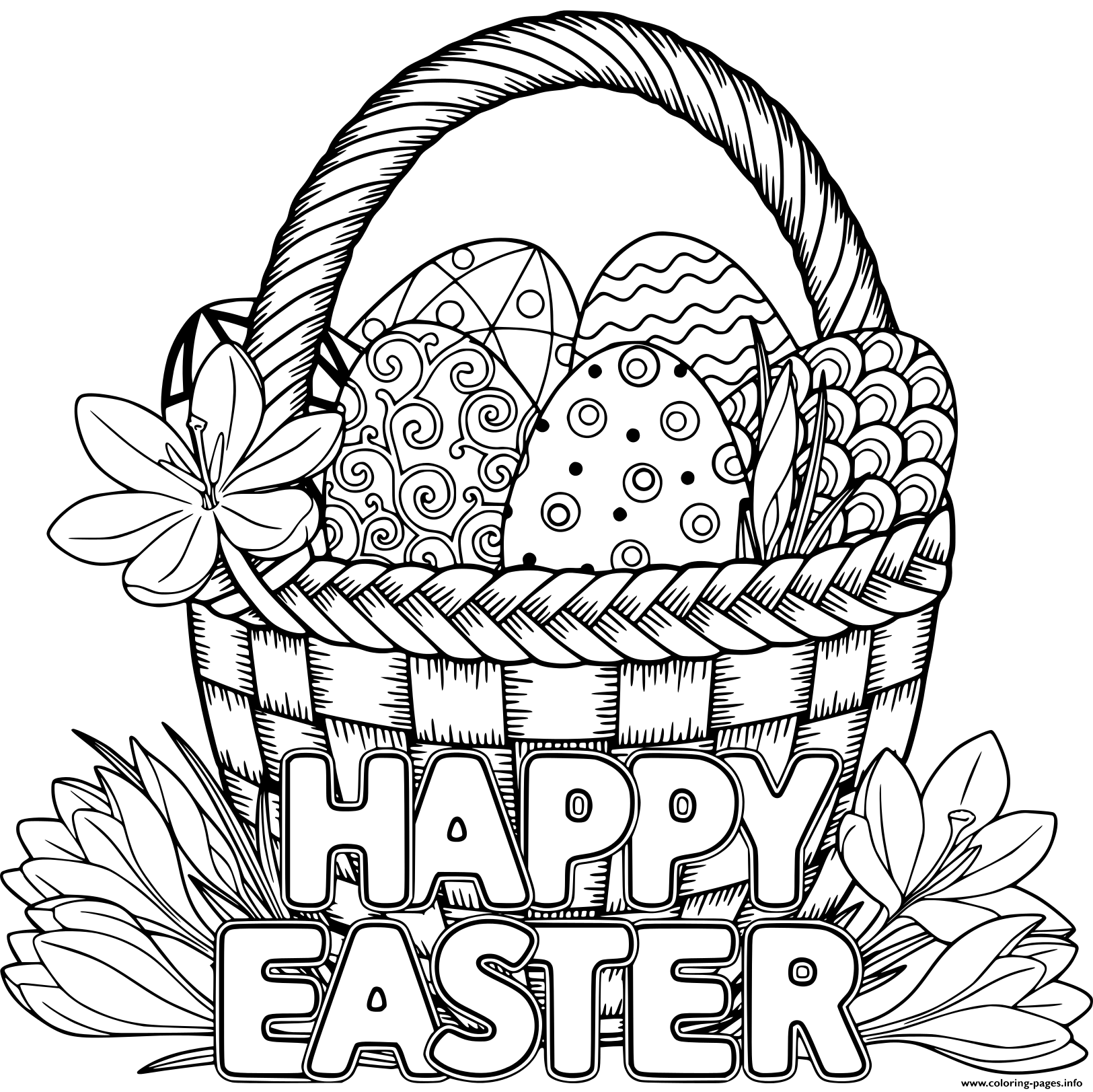 adult easter coloring pages get this free printable easter egg coloring pages for adult coloring easter pages