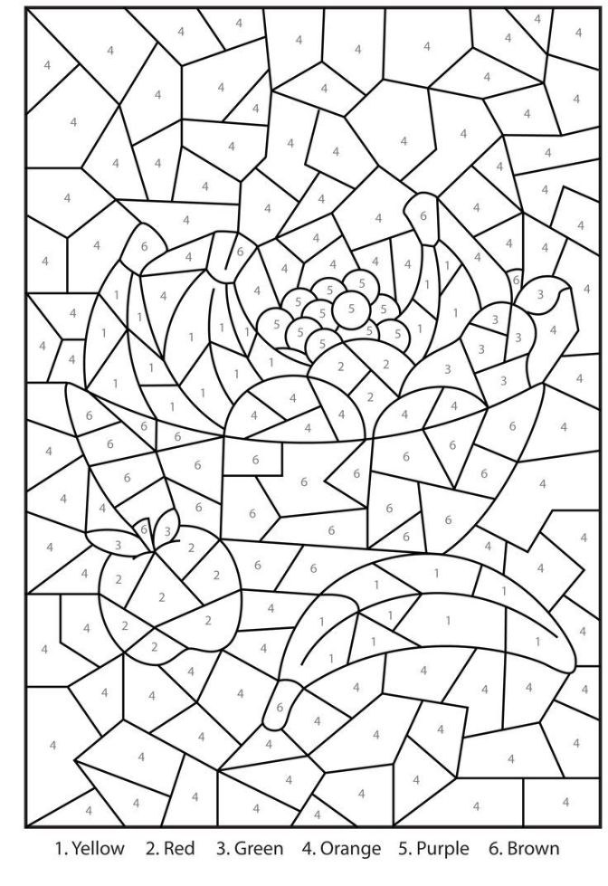 advanced color by number worksheets maths colours print and colour number worksheets color advanced by