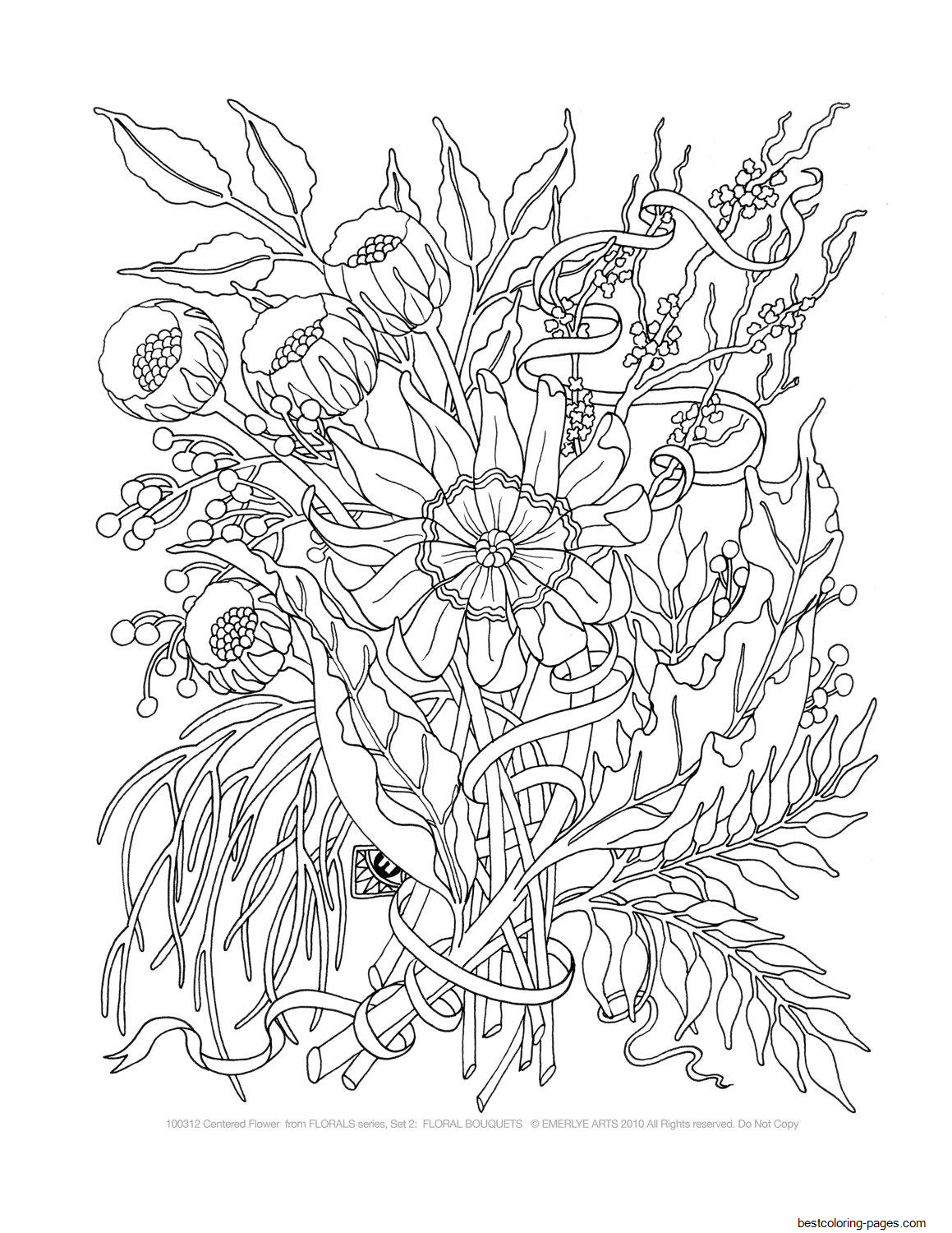 advanced coloring pages flowers abstract flower mandala advanced coloring page for adults flowers pages coloring advanced