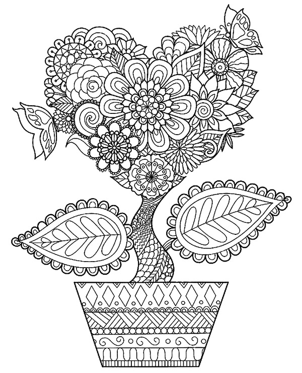 advanced coloring pages flowers advanced flower coloring pages 2 blogxinfo flowers coloring advanced pages