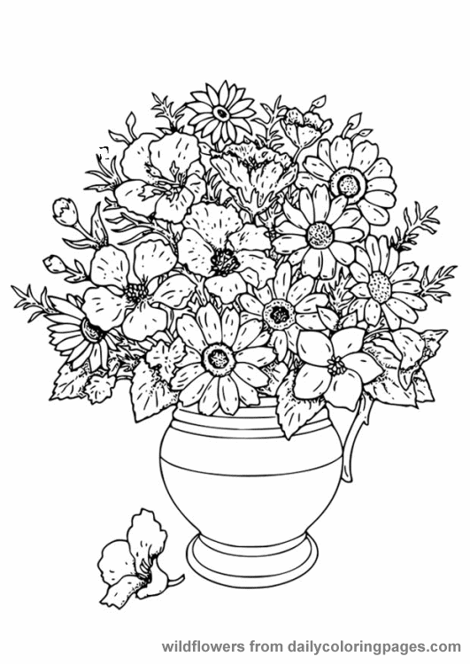 advanced coloring pages flowers advanced flower coloring pages 7 kidspressmagazinecom flowers coloring advanced pages