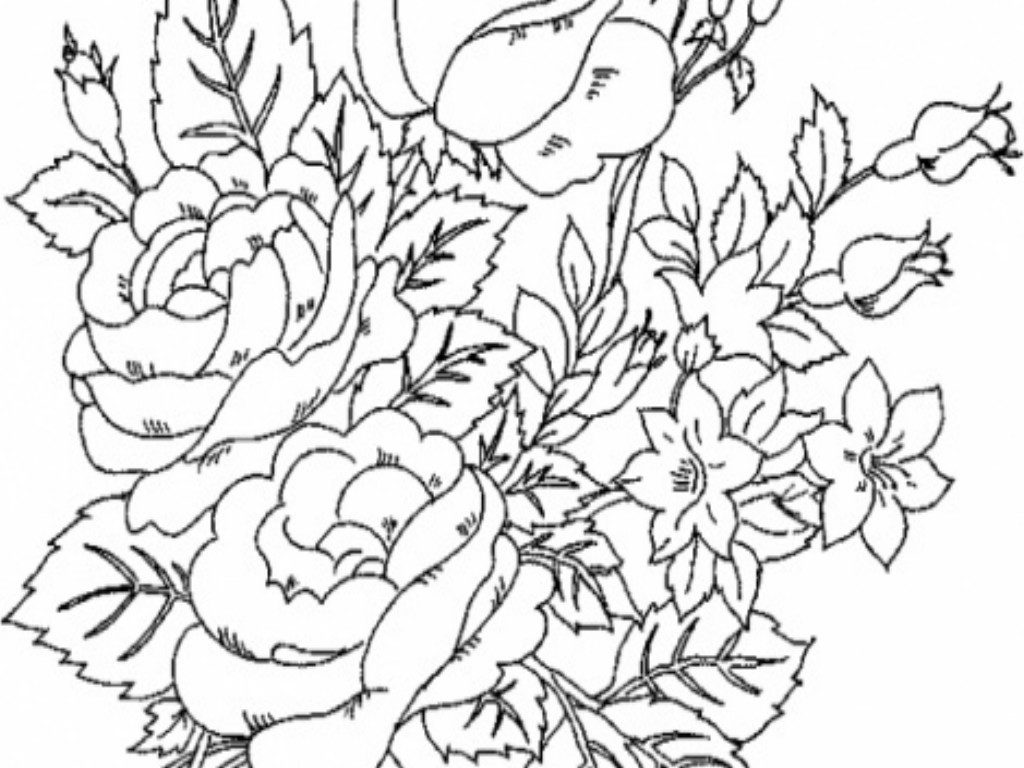 advanced coloring pages flowers coloring pages flower coloring pages uniquecoloringpages coloring flowers pages advanced